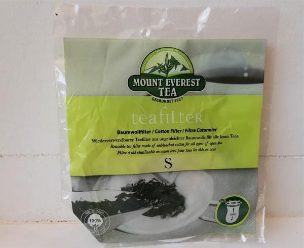 Teefilter aus Baumwolle S