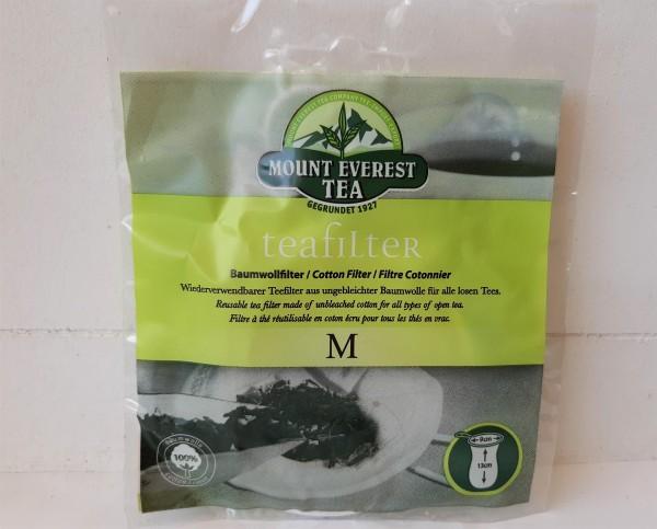 Teefilter aus Baumwolle M