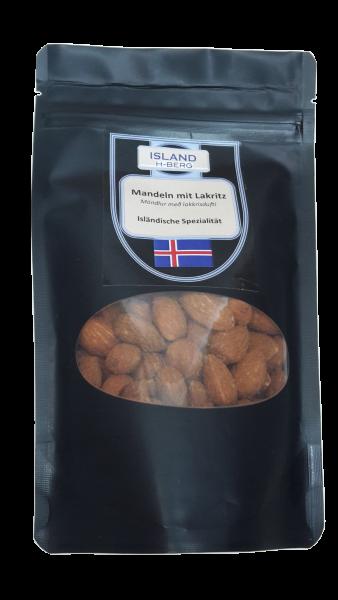 Mandeln mit Lakritz 100 g