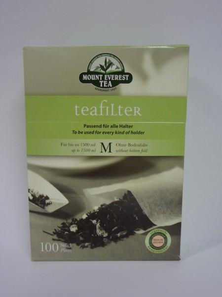 Teefilter, klein, breit M