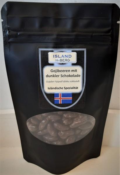 Gojibeeren mit dunkler Schokolade 100 g